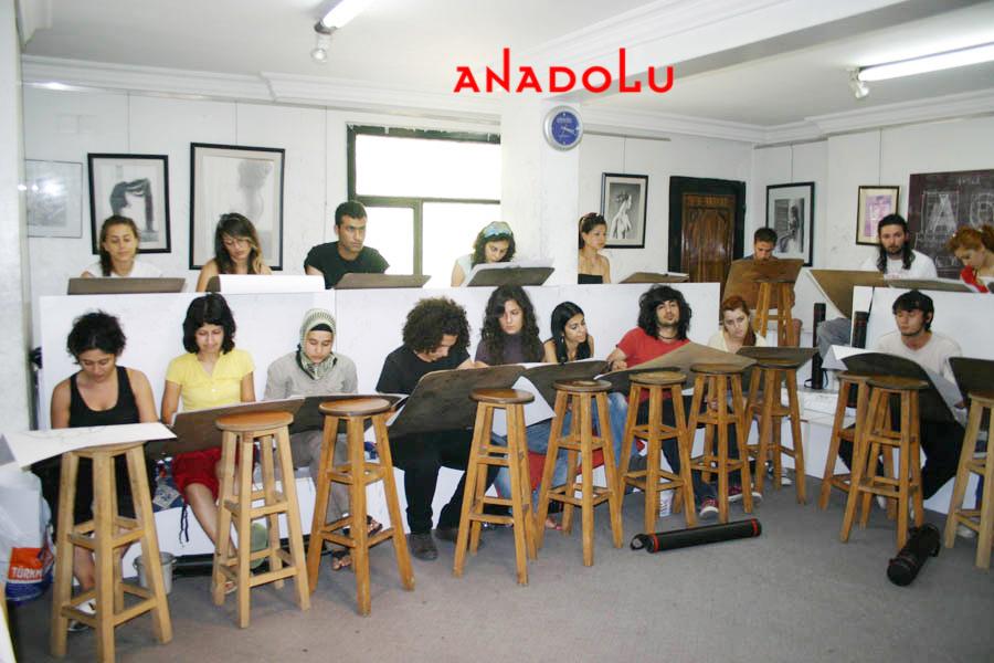 Çukurova'da Anadolu Guzel Sanatlar Egitim Kurumlari