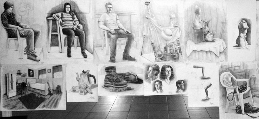 Güzel Sanatlarda Çıkmış İmgesel Çizimler Çukurova