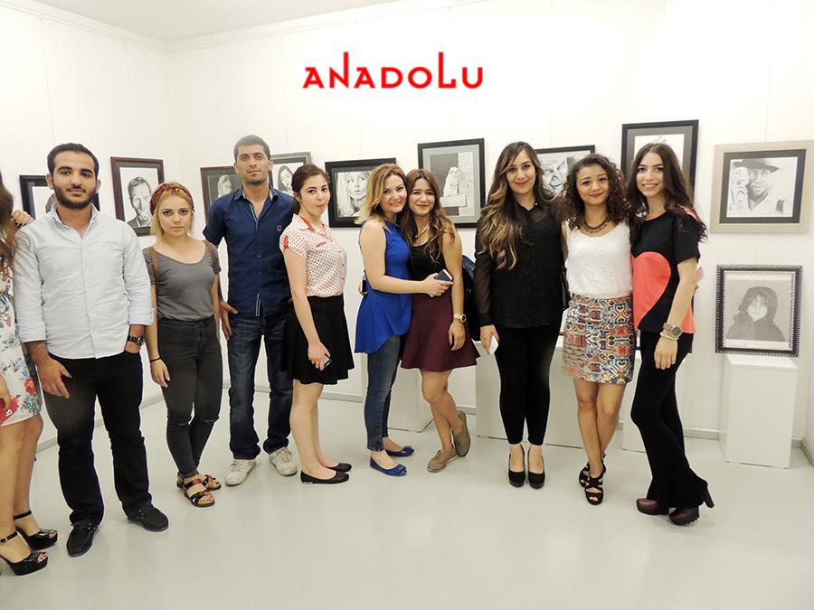 Çukurova'da Anadolu Güzel Sanatlarda Sergi Açılışları