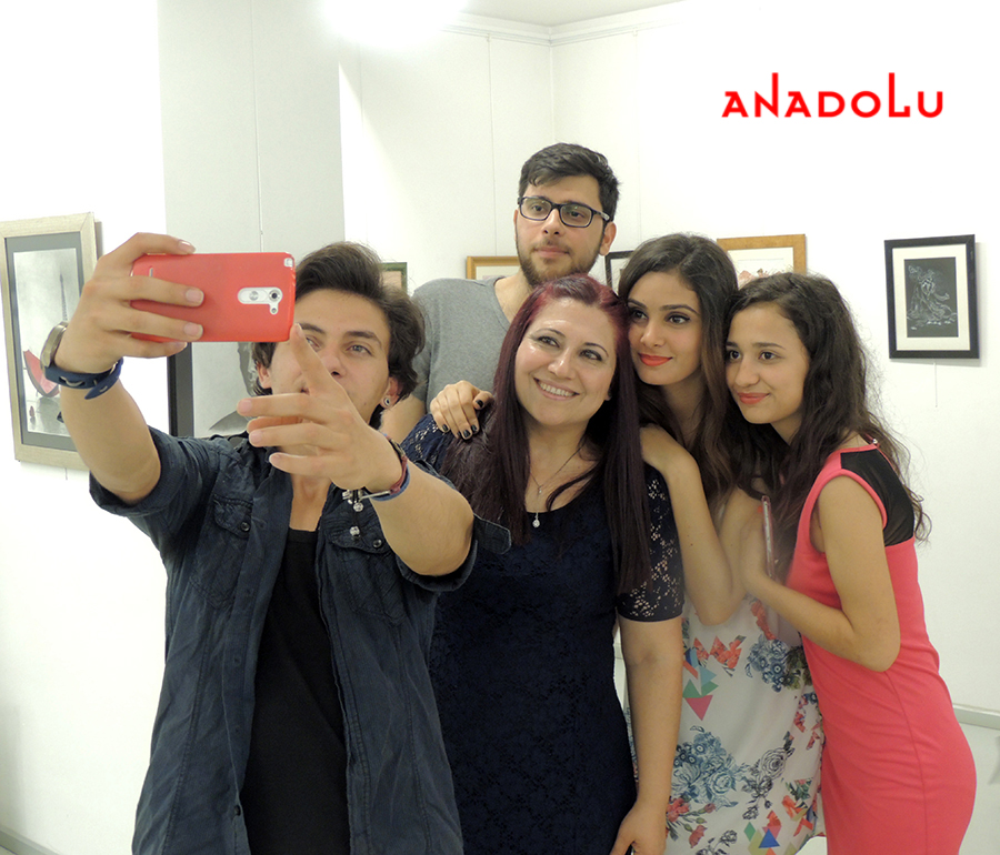 Anadolu Sanat Resim Sergisinde Kareler Çukurova