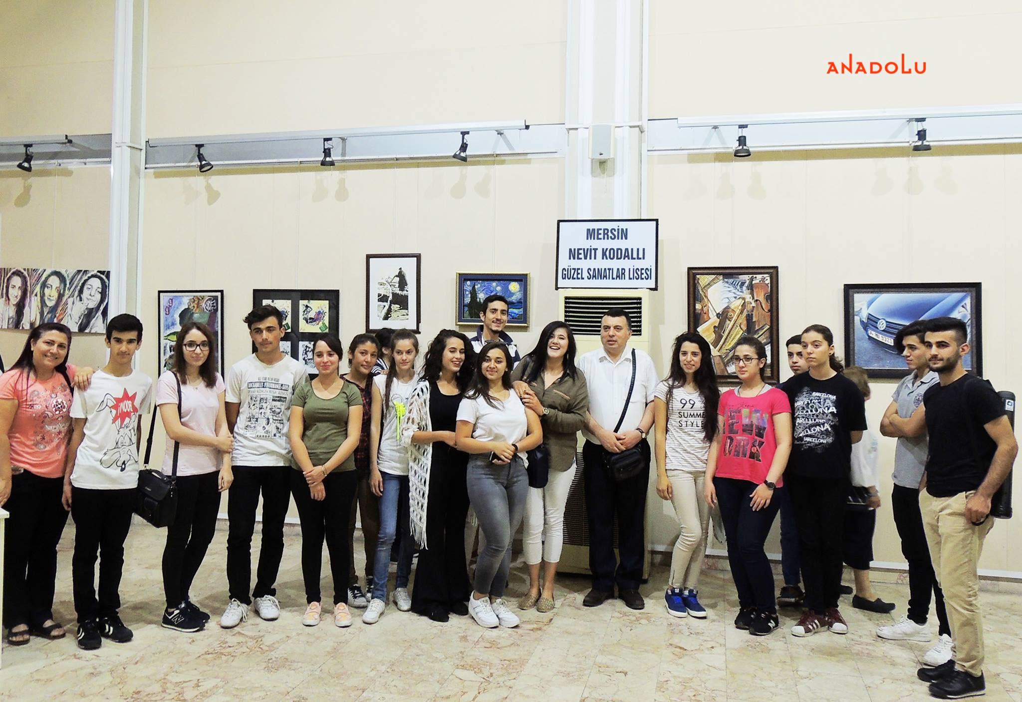 Anadolu Güzel Sanatlar Resim Sergilerden Çukurova