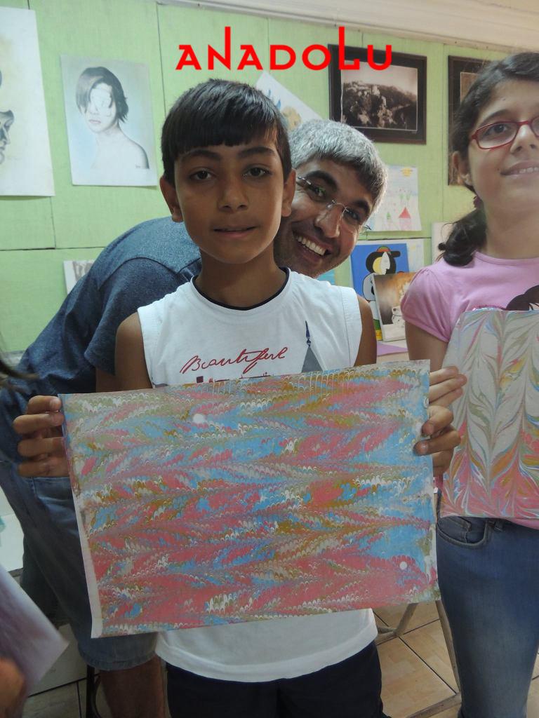 Çocuklar Yönelik Ebru Kursları İzmir