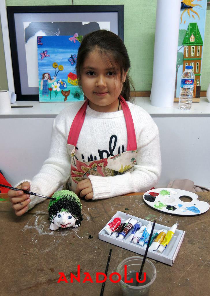 İzmir'de Çocuklara Yönelik Özel Resim Atölyeleri