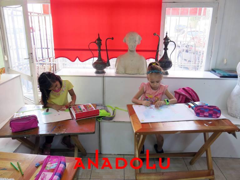 Çocuklar İçin Güzel Sanatlar Kursu İzmir