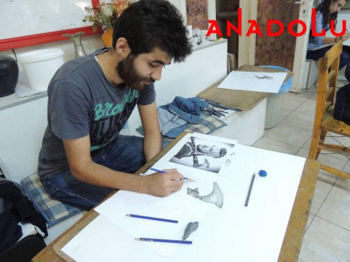 Hobi Karakalem Potre Çizim Dersleri Çukurova