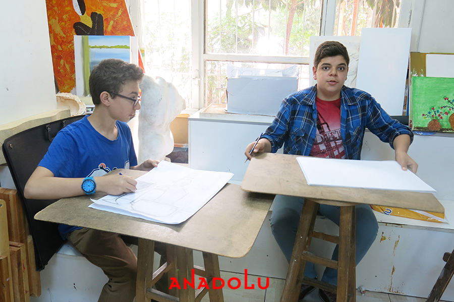 Lise Öğrencilere Resim Kursları Çukurova