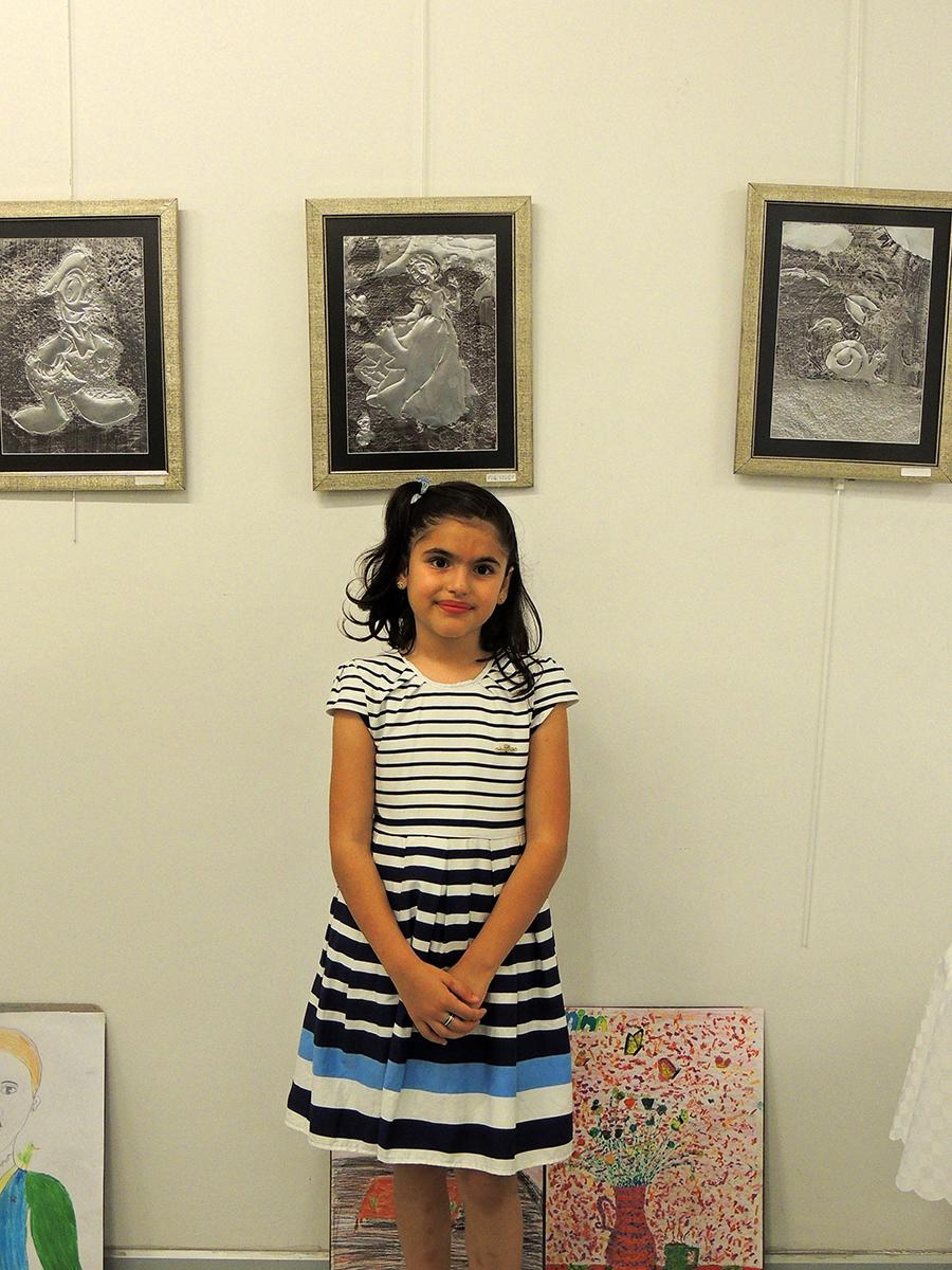 Çocukların Düzenlediği Resim Sergisi Çukurova