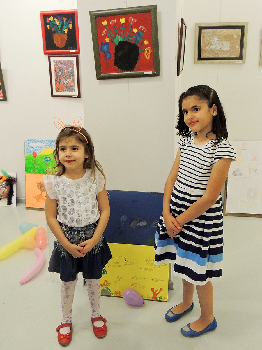 Çocuk Yönelik Resim Sergisi Çukurova