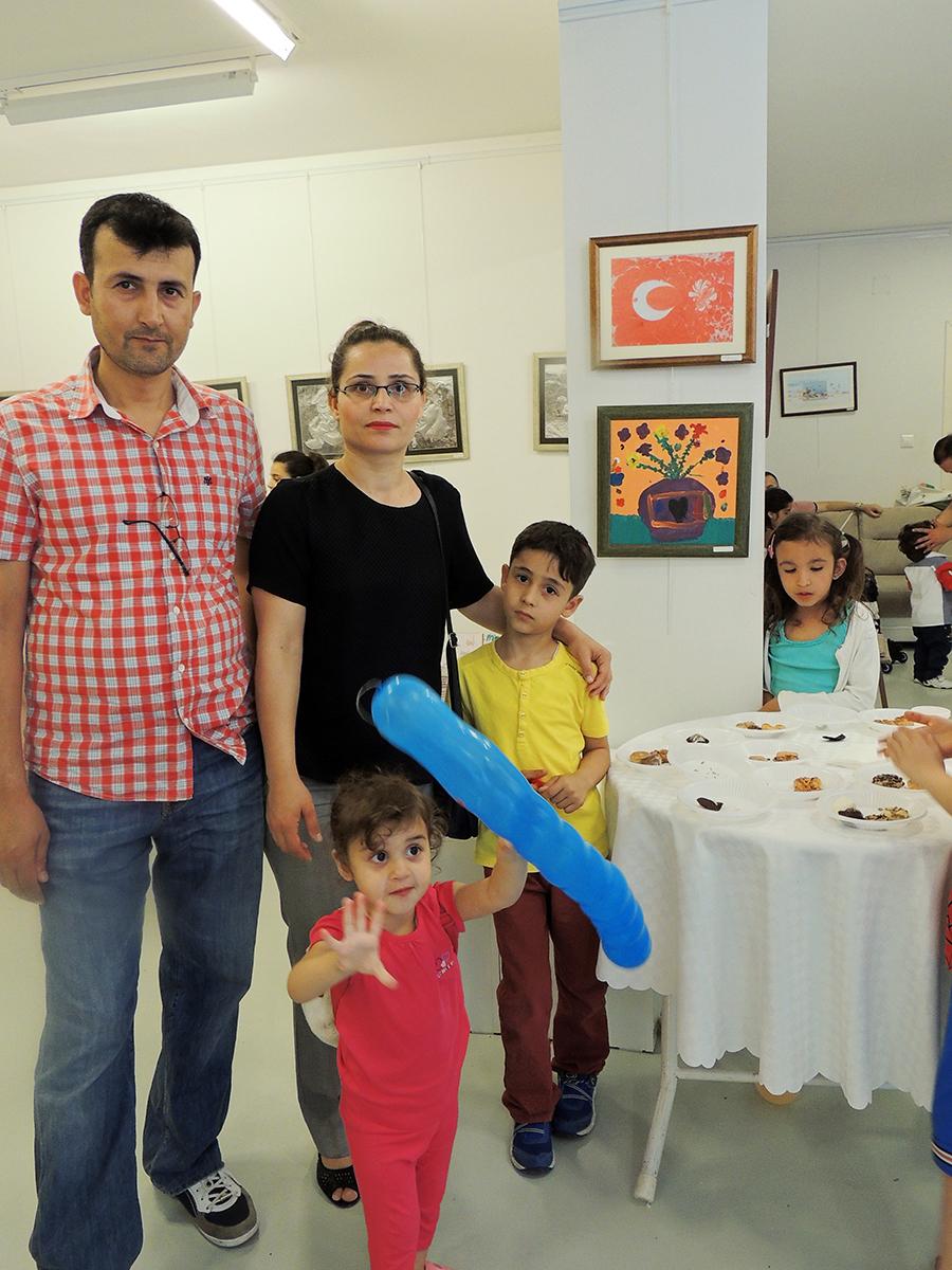 Çocukların Düzenlediği Sanat Sergileri Çukurova
