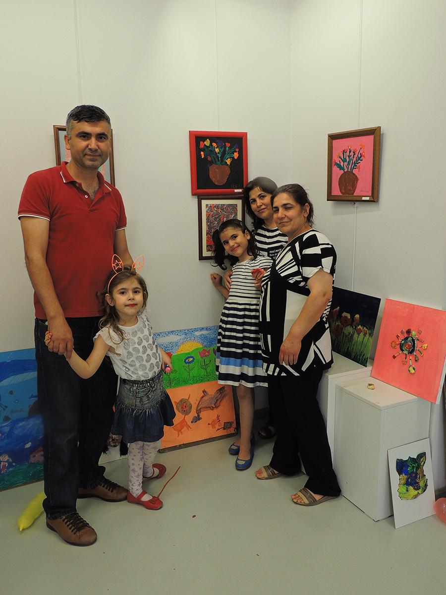 Çukurova'da Çocuklara Yönelik Resim Sergileri