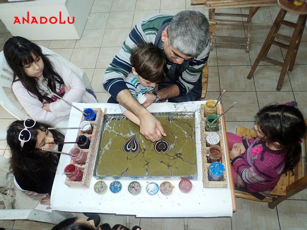 Çocuklar İçin Atölyesi Çizimleri Çukurova