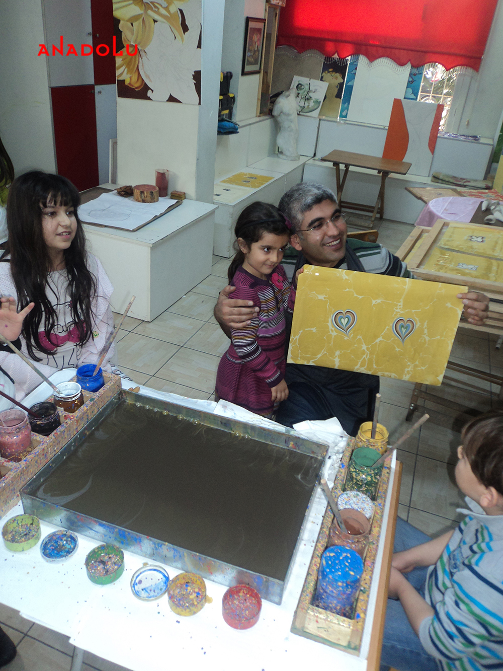Çocuk Eğitimleri ve Ebru Dersleri Çukurova
