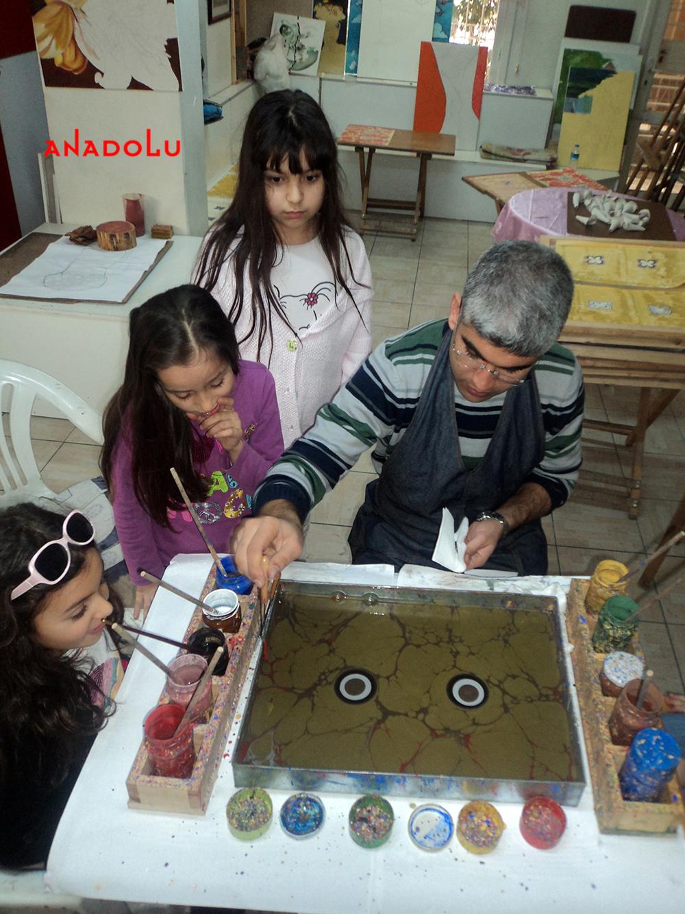 Çukurova Çocuklar İçin Özel Ebru Eğitimleri