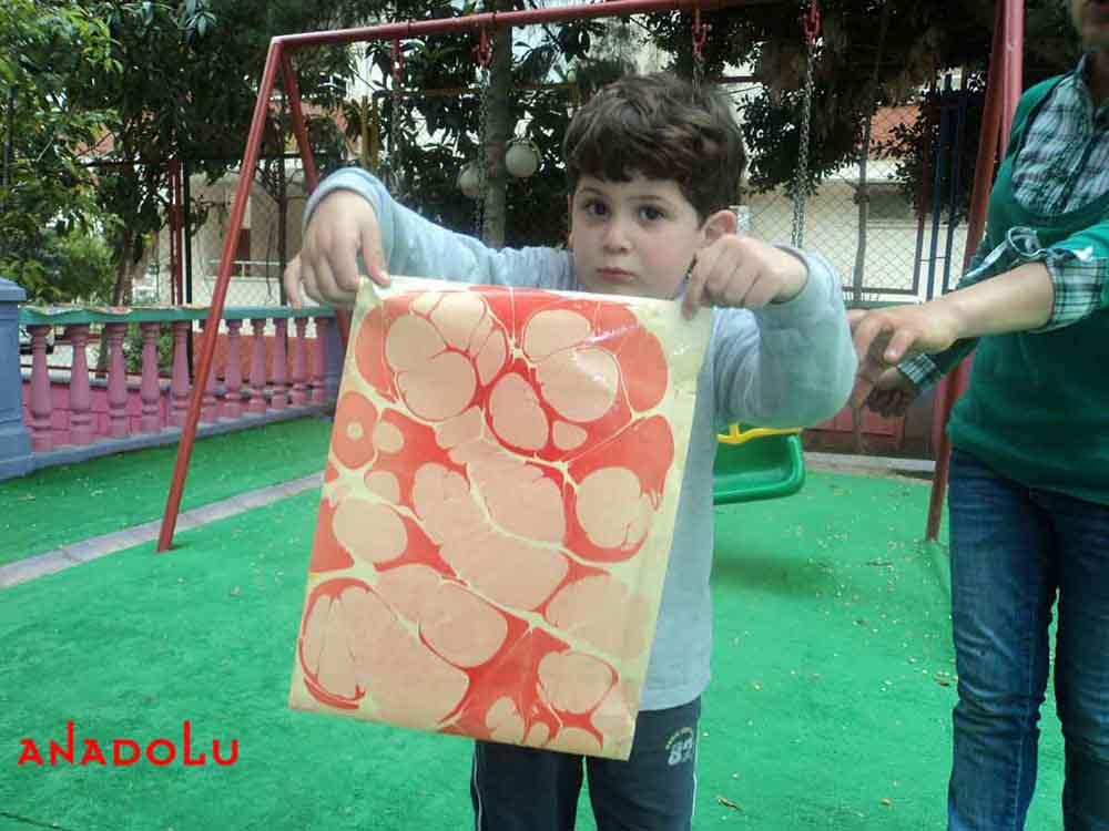 Çocuklara Yönelik Ebru Eğitimleri Çukurova