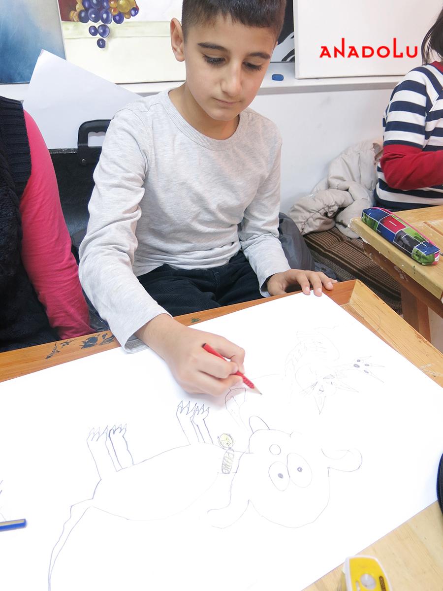 Çocuklar İçin Karakalem Eğitimleri Çukurova