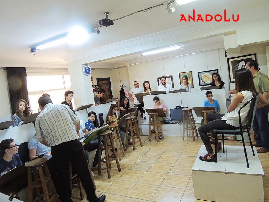 Çukurova'da Güzel Sanatlara Fakülteleri Hazırlık Sınıfları