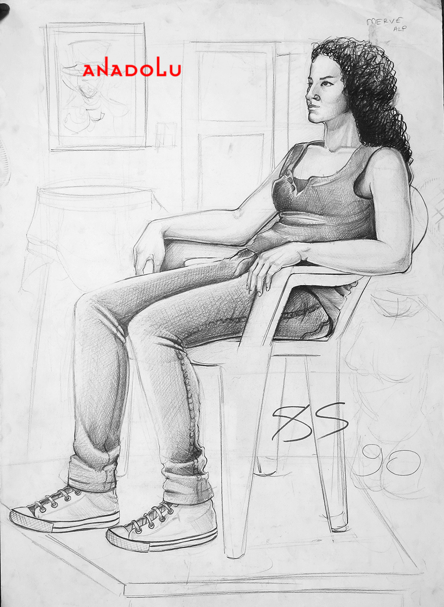 Güzel Sanat Eğitim Fakülteleri Çizim Örnekleri Çukurova