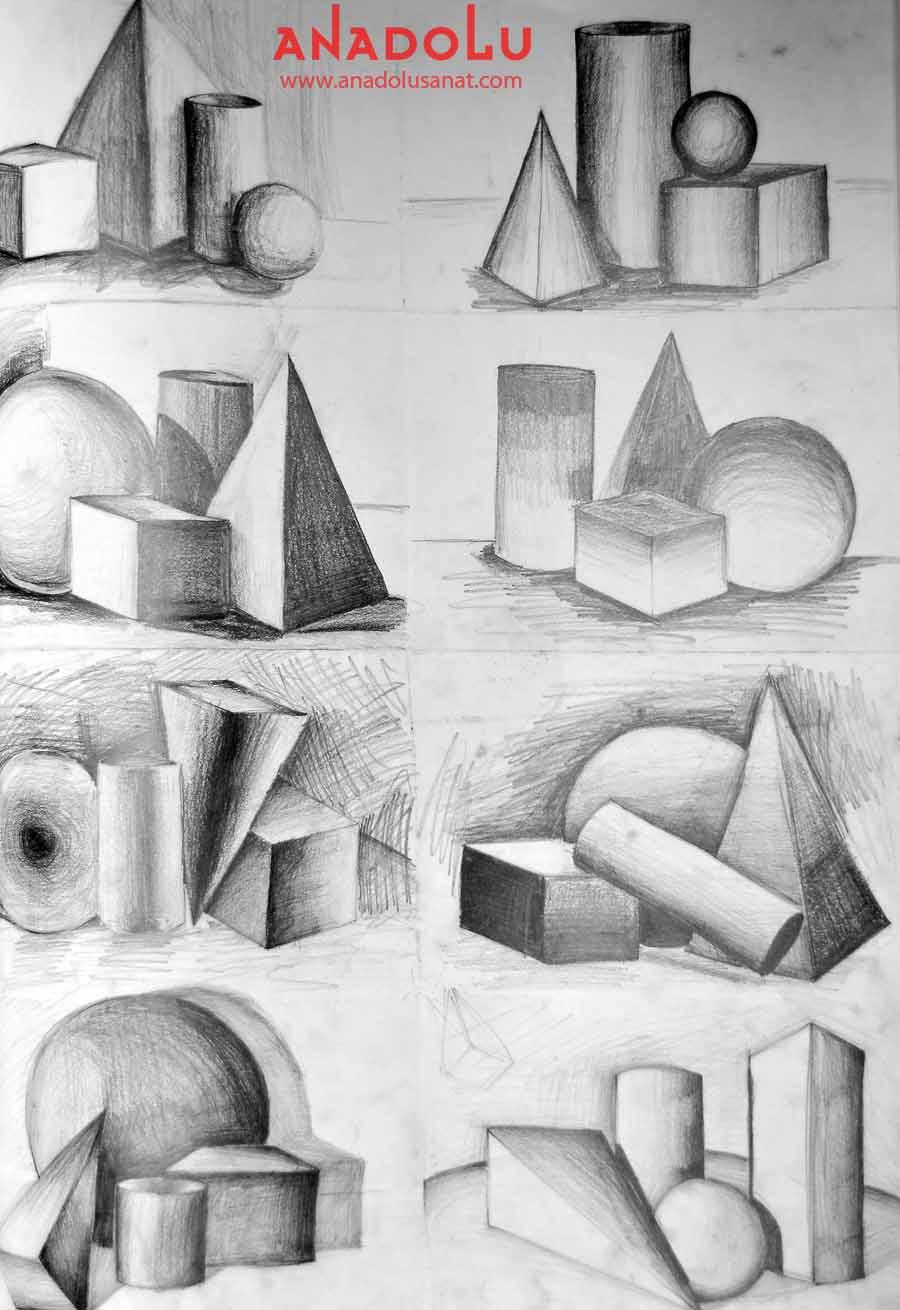 Güzel Sanatlar Fakülteleri İçin İmgesel Çizimler Çukurova