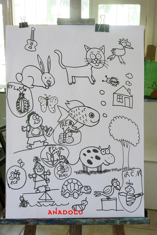Çocuklar İçin Çizimler Çukurova