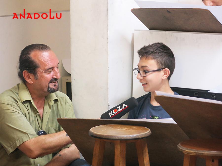 Çukurova'da Anadolu Güzel Sanatlar Öğrencileri TV Röportajları