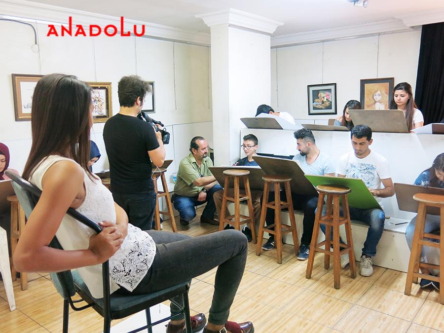 Çukurova Anadolu Güzel Sanatlar Öğrencileri TV Röportajları