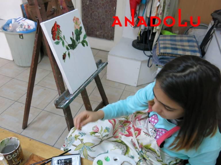 Çocuklar İçin Sanatsal Çizimleri Çukurova