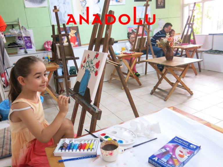 Çocuklar İçin Sanatsal Çizim Atölyeleri Çukurova