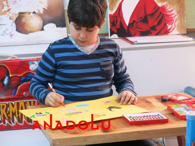 Çocuk Yüz Boyama Resim Sergisi Çukurova