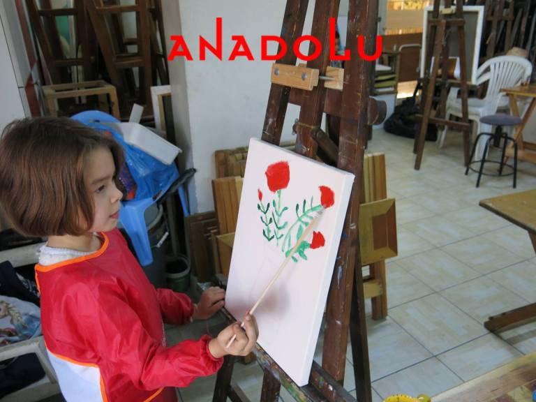 Çocuklar İçin Yağlı Boya Resim Atölyeleri Çukurova