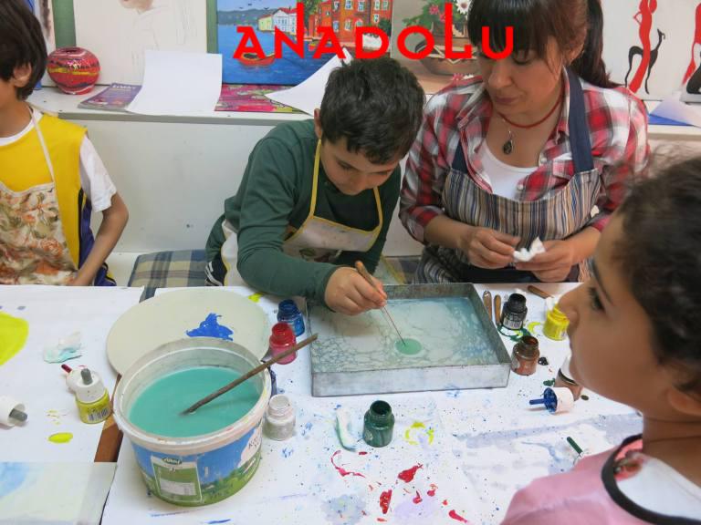 Anadolu Resim Atölyesinde Çocuk Kursları Çukurova