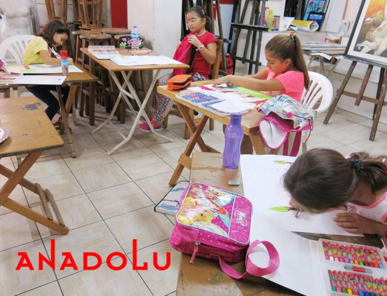 Çukurova'da Çizim Eğitimleri