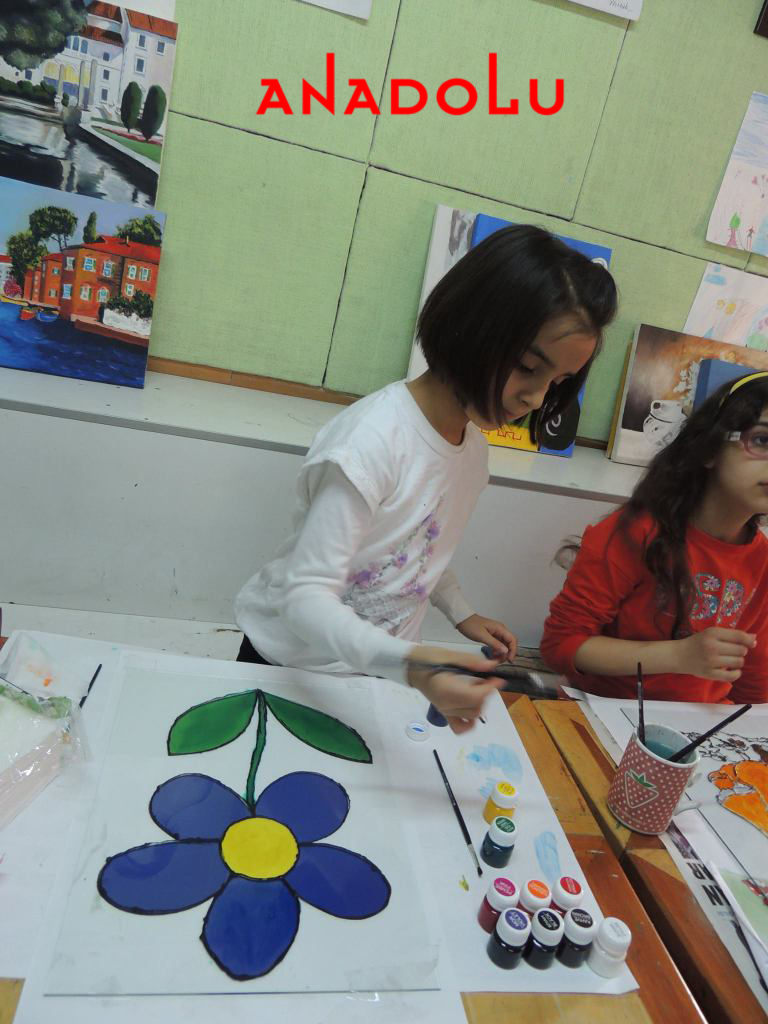 Çocuklara Yönelik Sanat Dersleri Çukurova