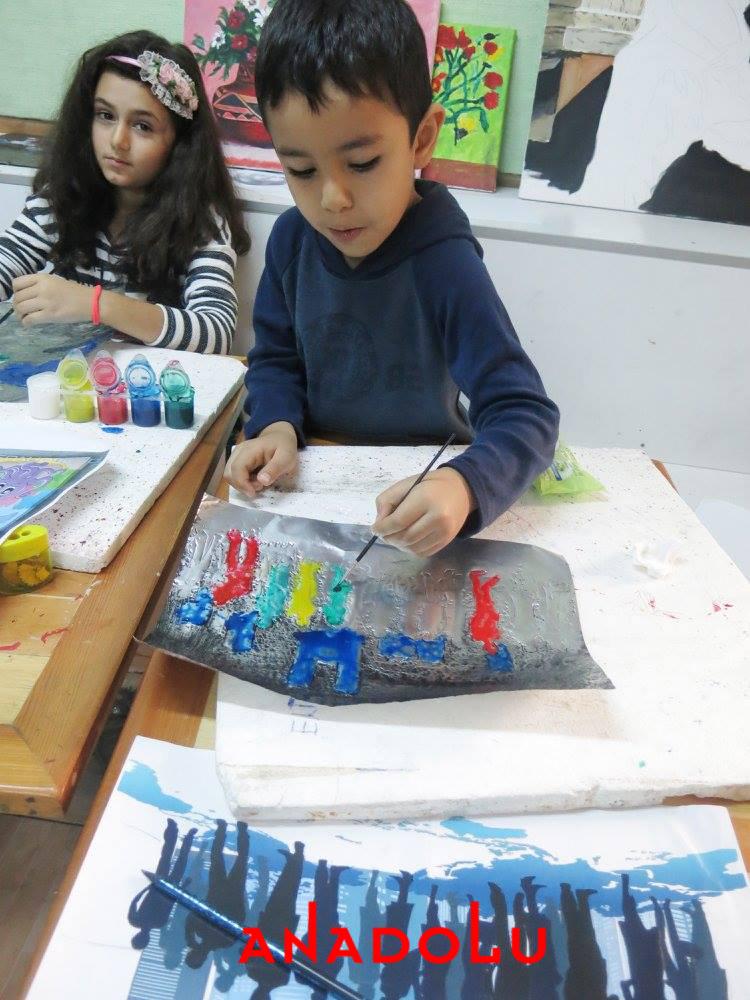 Çocuklara Yönelik Alüminyum Kabartma Tekniği Çukurova