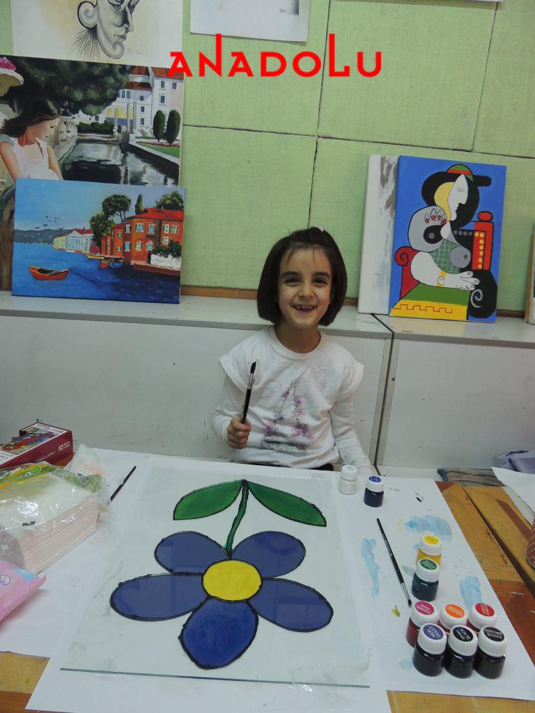 Çocuklara Yönelik Vitray Boyama Kursları Çukurova