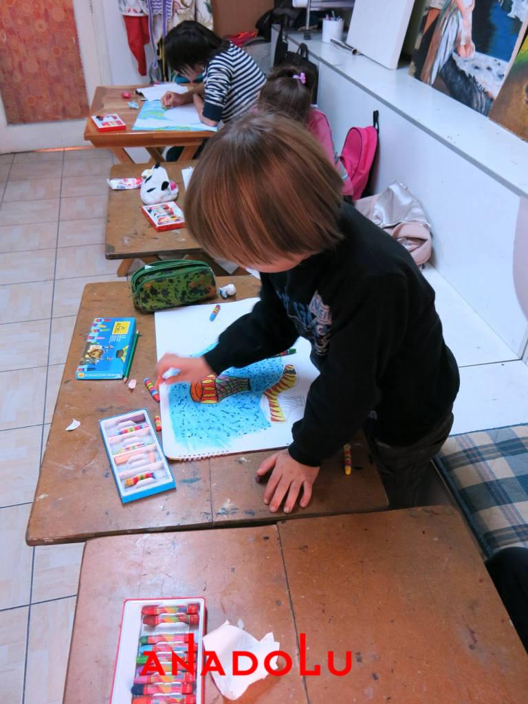 Çocuklara Yönelik Pastel Mozaik Yapımı Çukurova