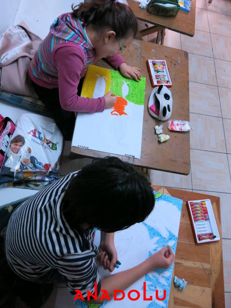 Çukurovada Çocuklar İçin Sanat Dersleri