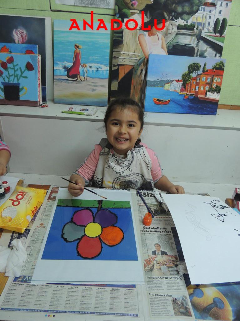 Çocuklara Yönelik Sanat Kursları Devam Ediyor Çukurova