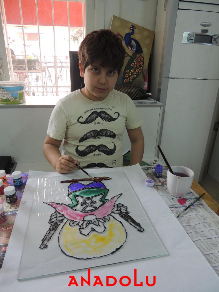 Çocuklara Yönelik Vitray Kursları Devam Ediyor Çukurova