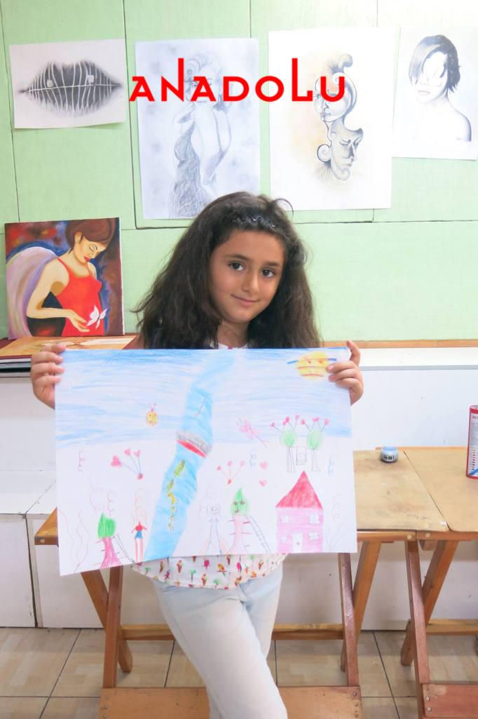 Çukurovada Çocuk Sanat Sergisinde