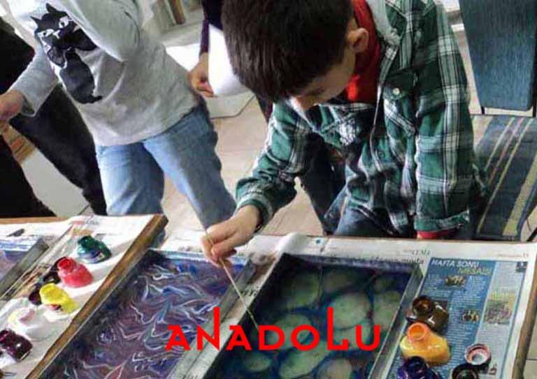 Çocuklara Yönelik Ebru Kursları Çukurova