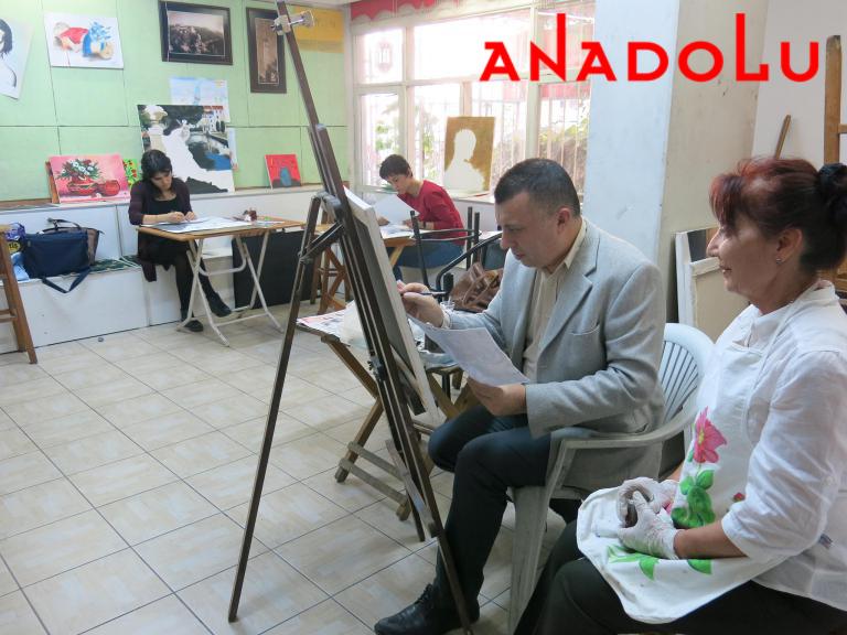 Yağlıboya Çizim Dersleri Hobi Grupları Çukurova