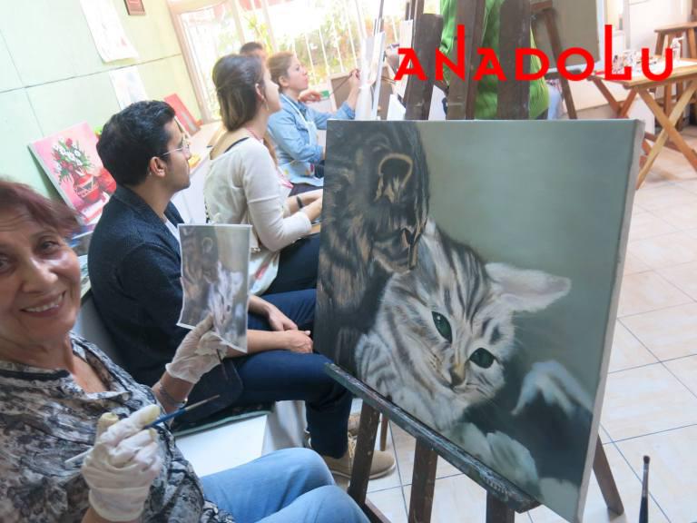 Yağlı boya Hobi Çizim Kursları Çukurova