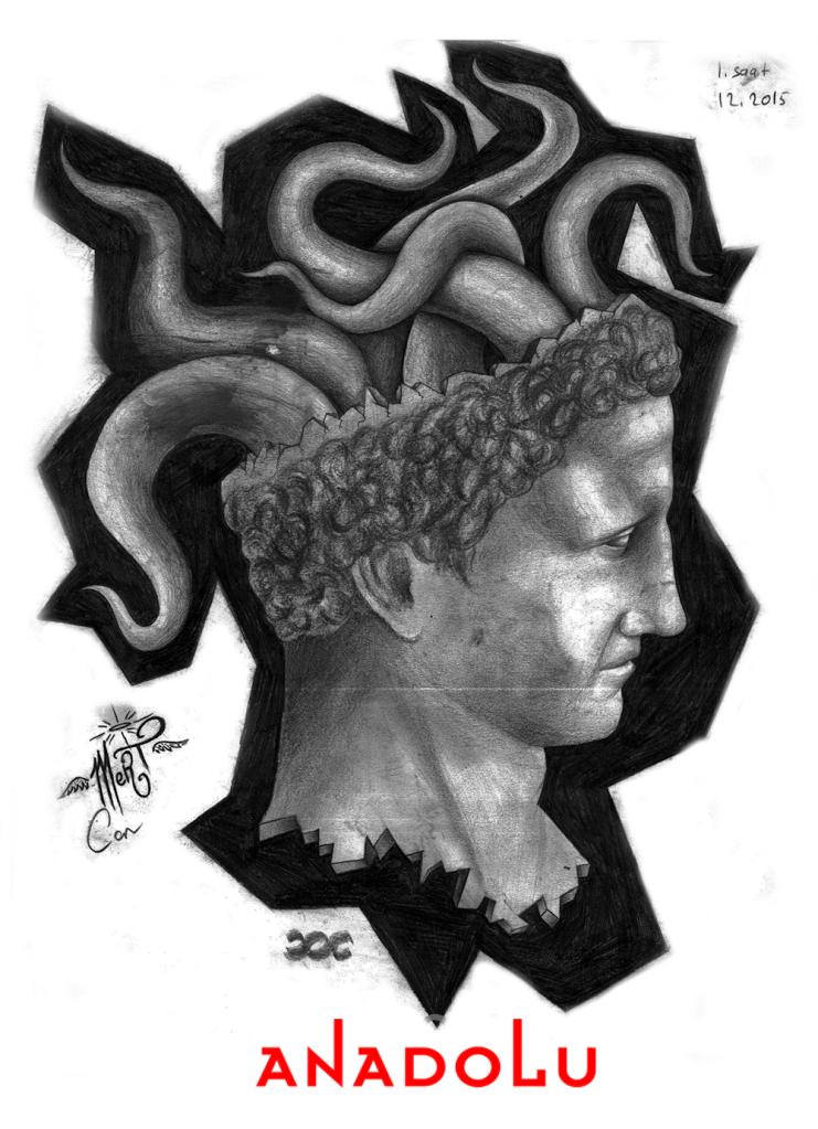 Karakalem Heykel Çizim Örnekleri Çukurova