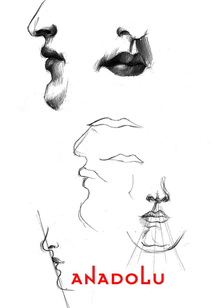 Karakalem El Yüz Çizimleri Çukurova