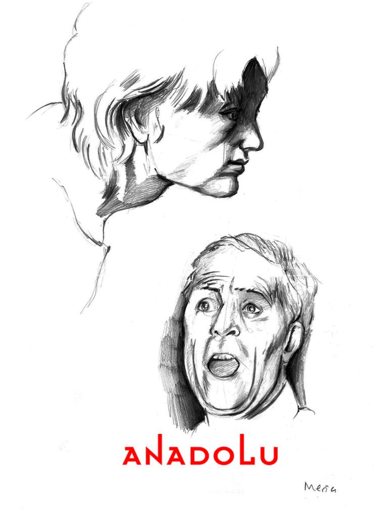 Kara kalem Portre Çalışmaları Örnekler Çukurova