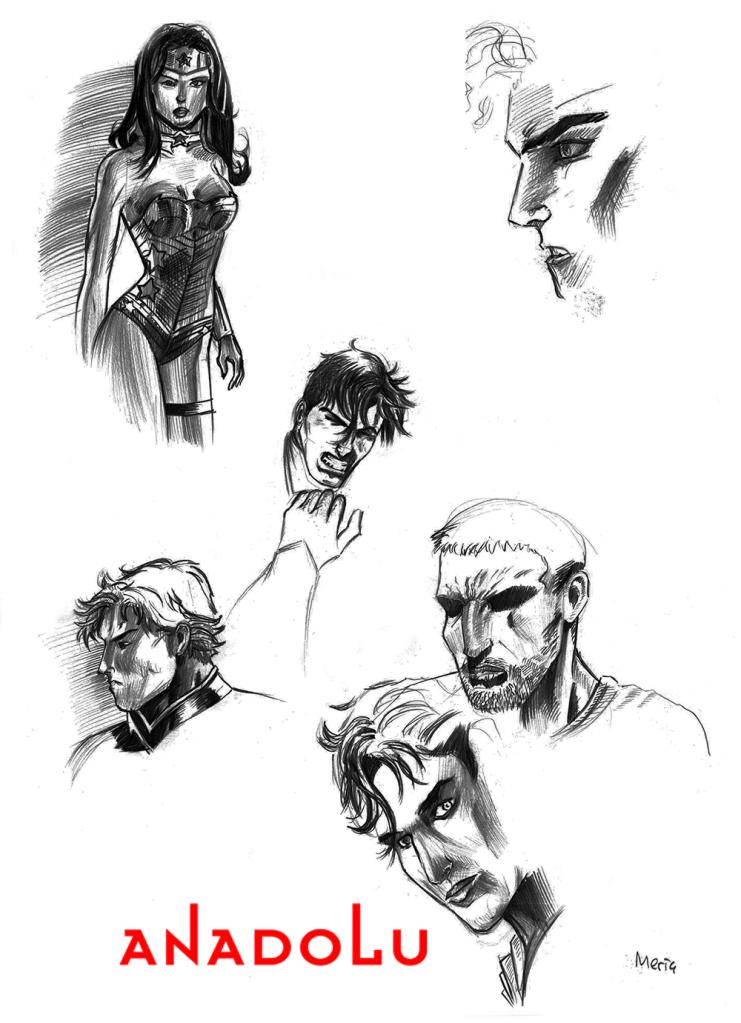 Karakalem Portre Çizimleri Çukurova