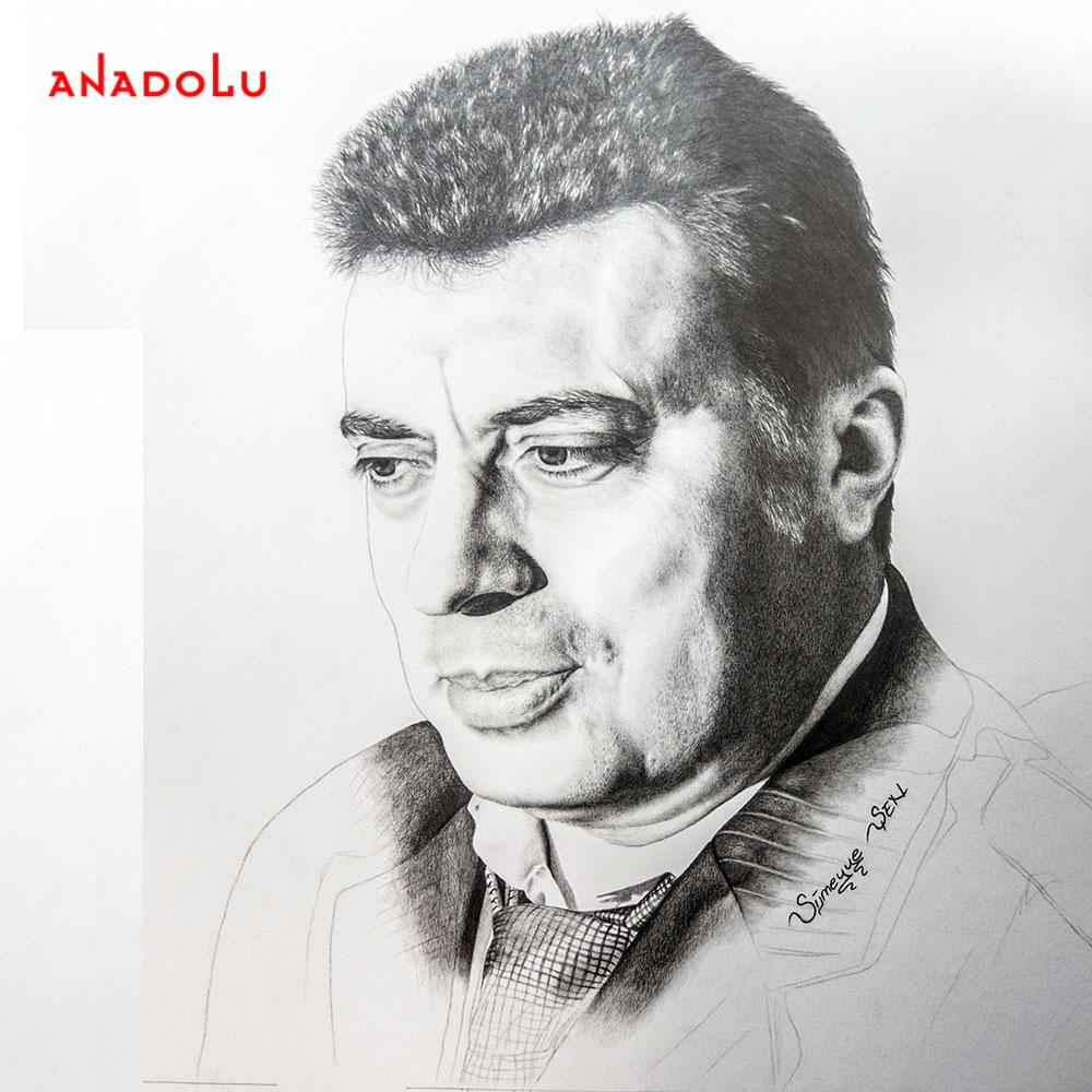 yaşarkarakuzu'nun kara kalem portresi Çukurova