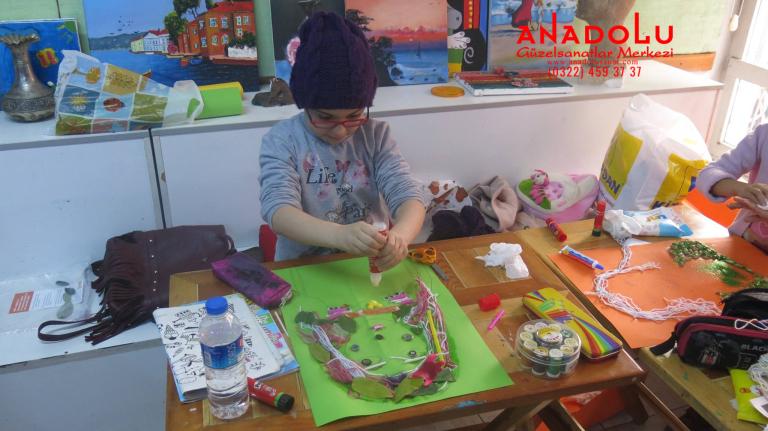 Çocuklar İçin Sanat Kursları Çukurova