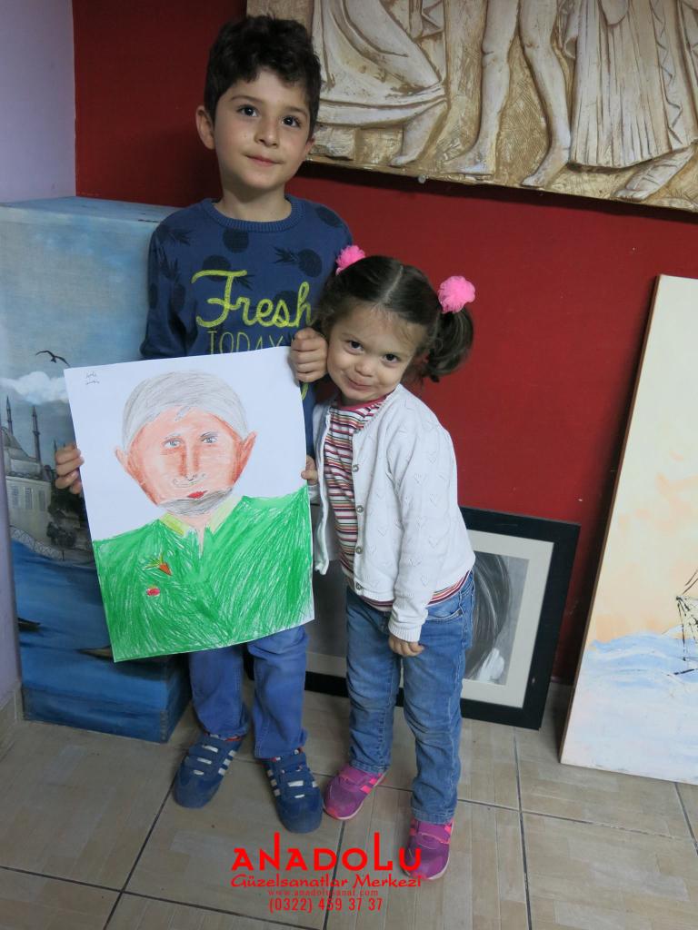Çukurova'da Çocuk Sanat Atölyeleri