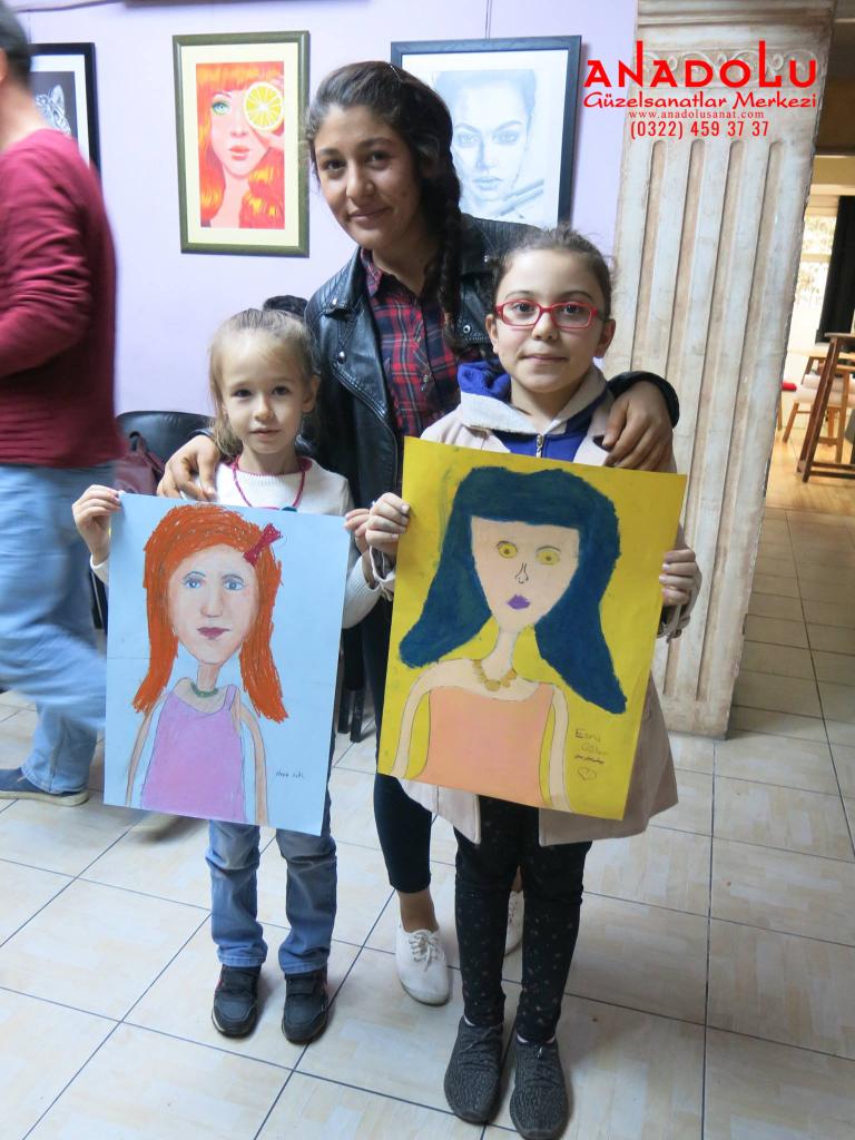 Çukurova'da Çocuklar İçin Çizim Dersleri